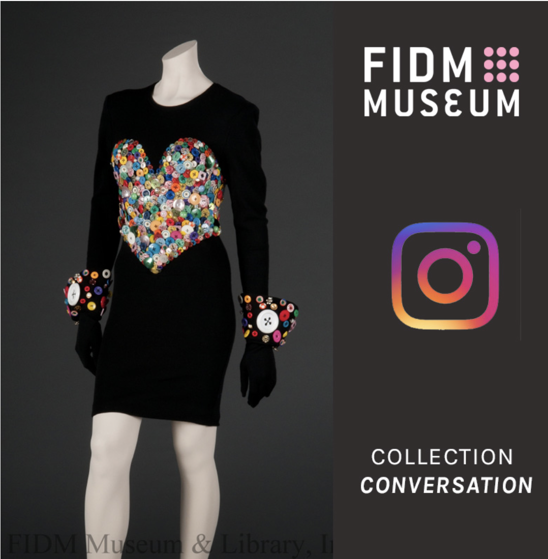 "Speaker: FIDM Museum ""Collection Conversation"" on Patrick Kelly with Dr. Eric Darnell Pritchard Image"